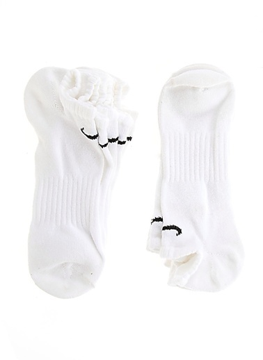 Nike Spor Çorap | 6'lı Paket Beyaz